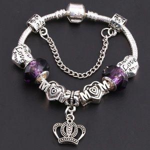 Jewelry - Glass pandora Beads Bracelet